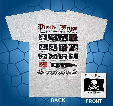 Pirate Flags of the high seas