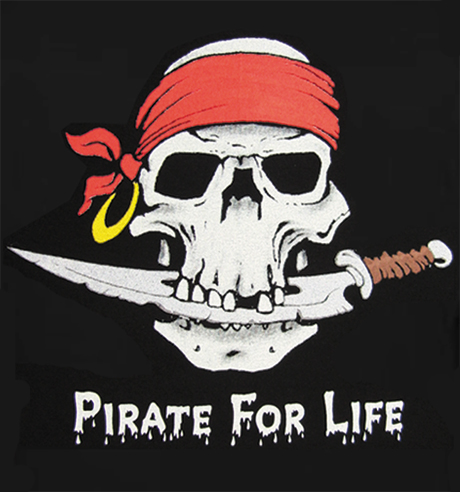 pirate for life