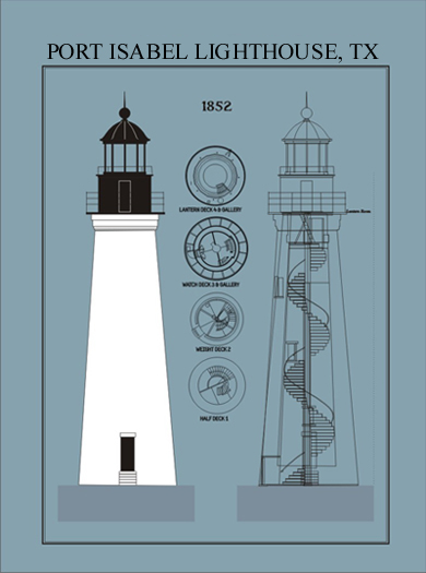 Point Isabel Lighthouse Plans