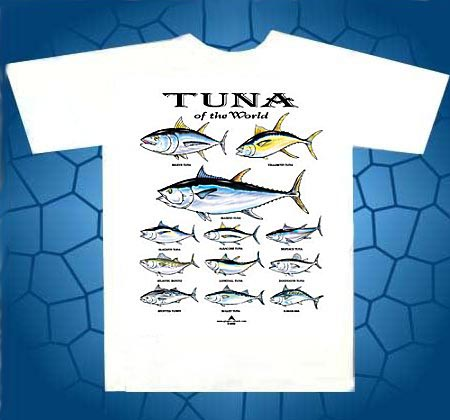 tuna of the world t-shirt